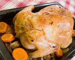 Pollo Relleno De Verduras Receta Casera