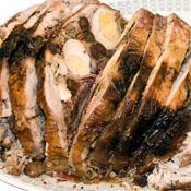 Pollo Relleno de Jamón
